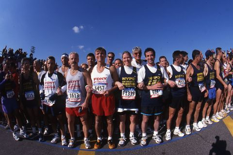 New York City Marathon 2001