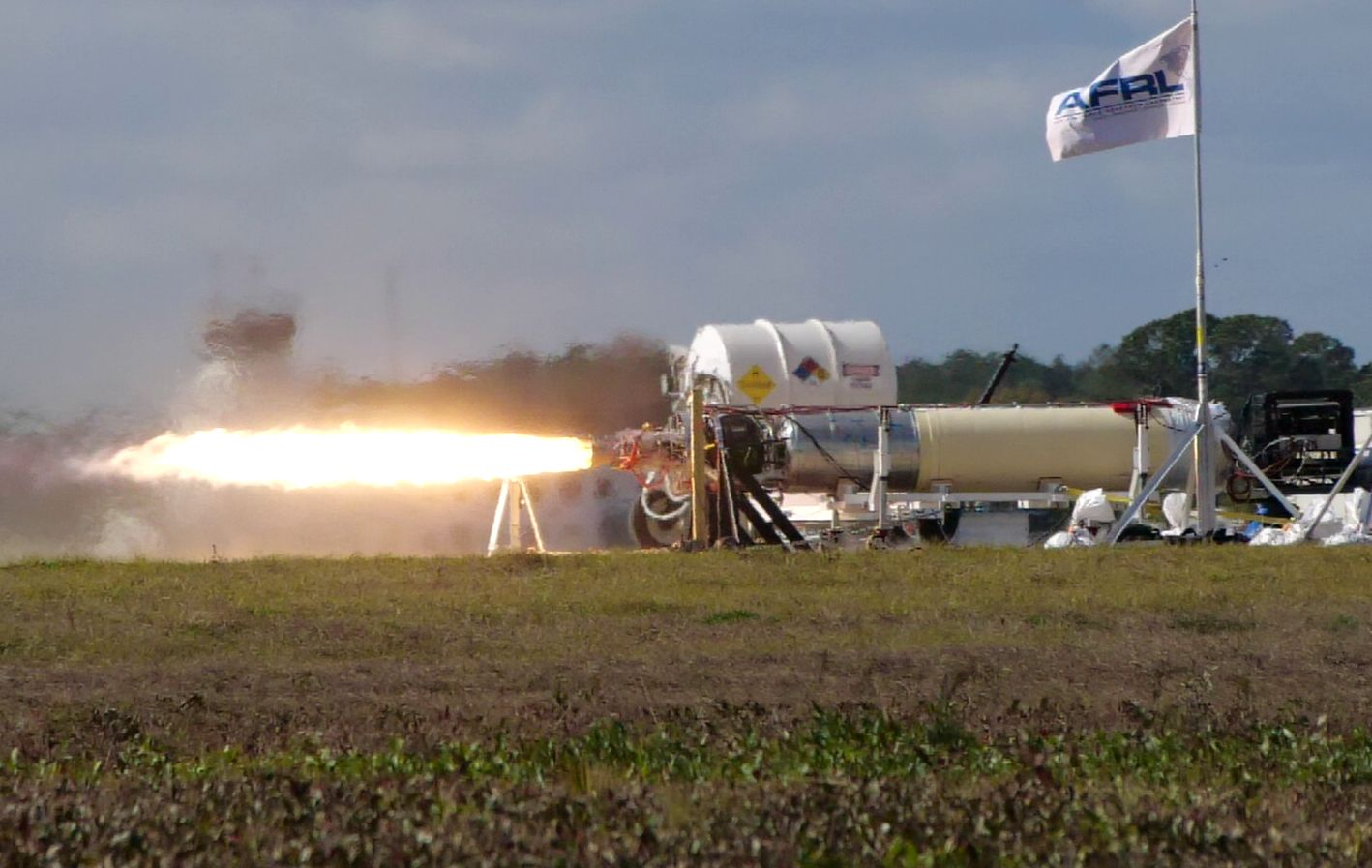 The Air Force Is Testing a Hypersonic Rocket Booster
