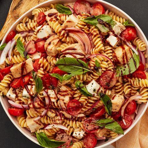 grilled chicken bruschetta pasta salad