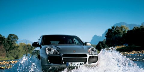 Tested 2003 Porsche Cayenne Turbo Took Fast Suvs To New Heights