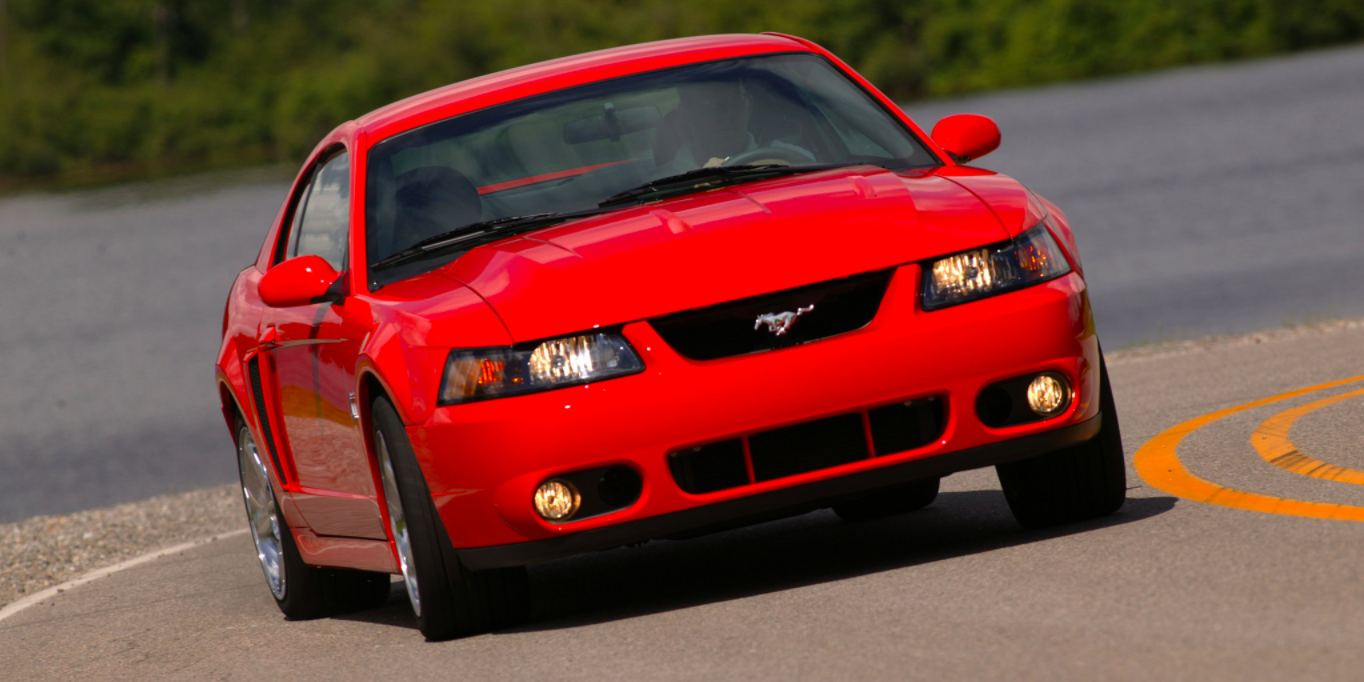 Ford mustang svt cobra video review motorweek retro review svt cobra