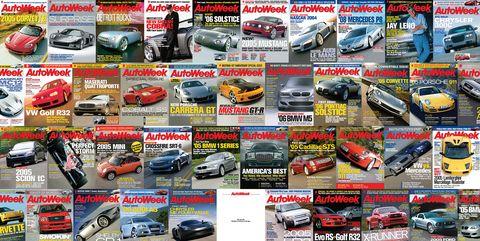 2004 Autoweek Covers