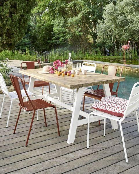 ideas para cenas en jardín
