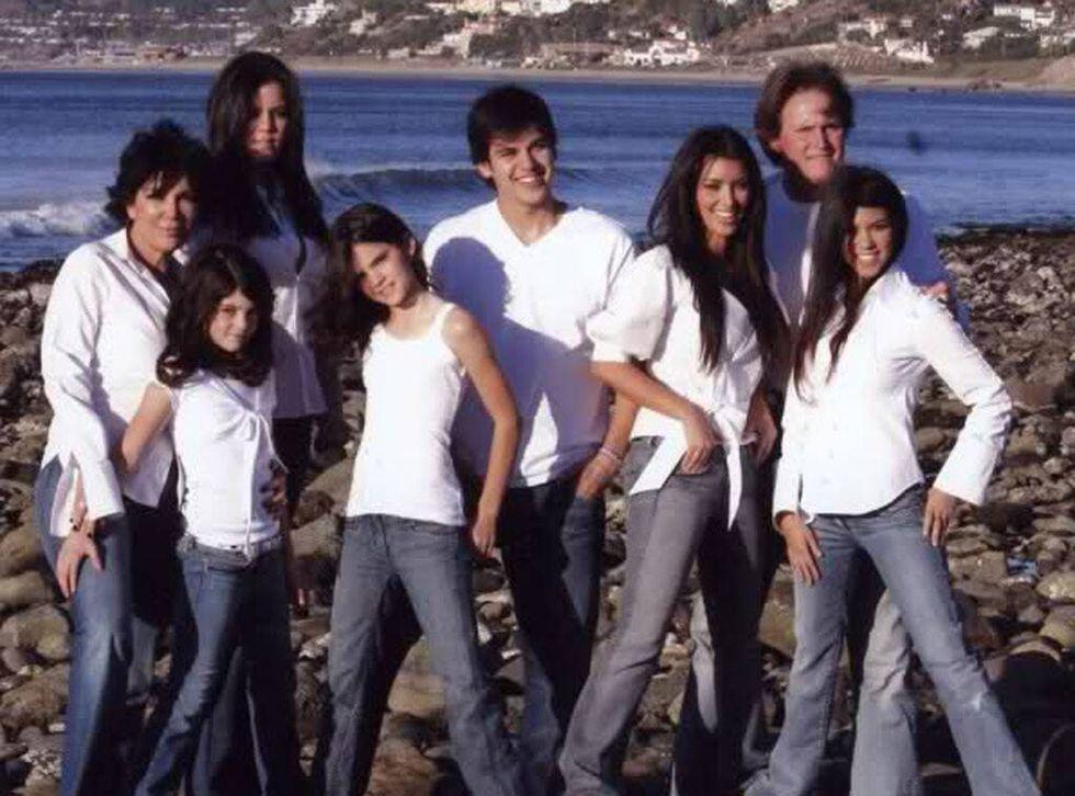 Kardashian family 2005