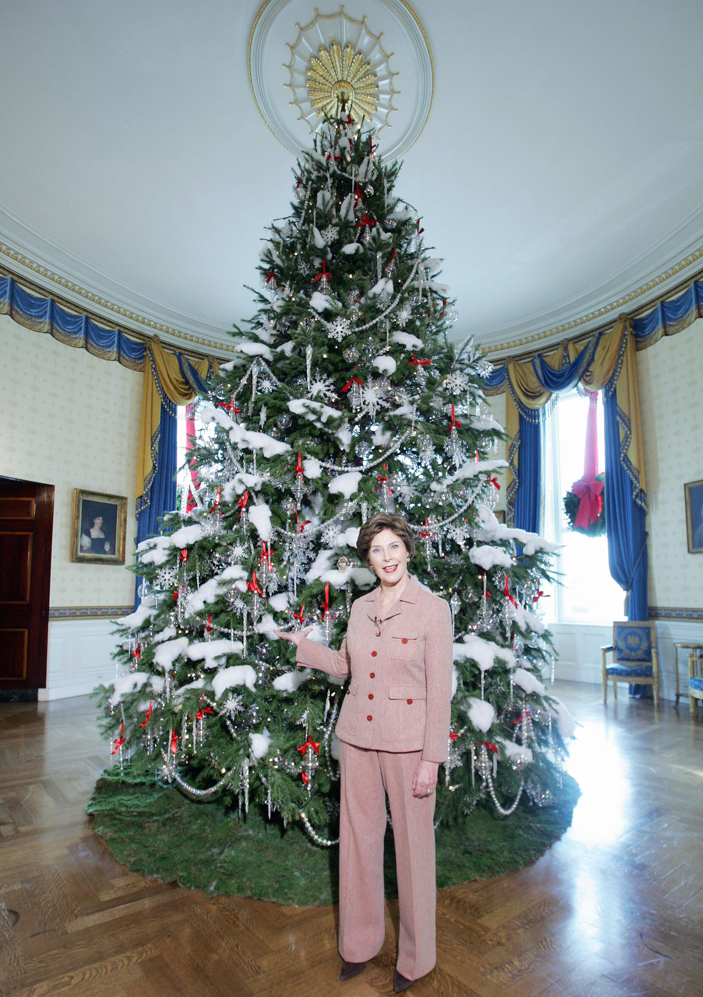 White House Christmas Decorations Through The Years