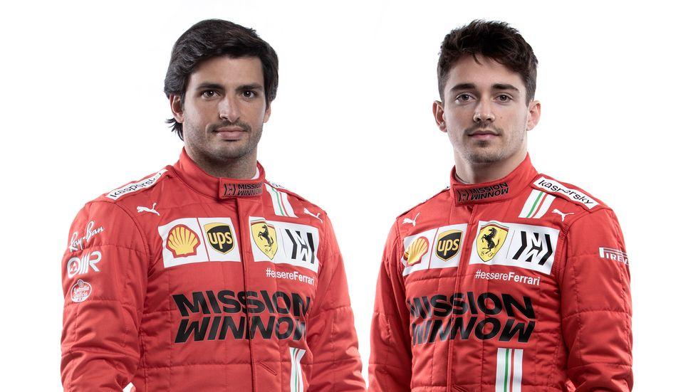 Ferrari presenta su equipo para 2021 con Carlos Sainz y Charles Leclerc al frente