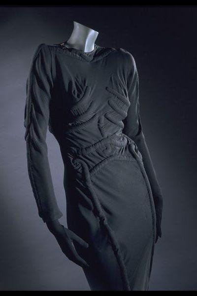 skeleton dress by schiaparelli
