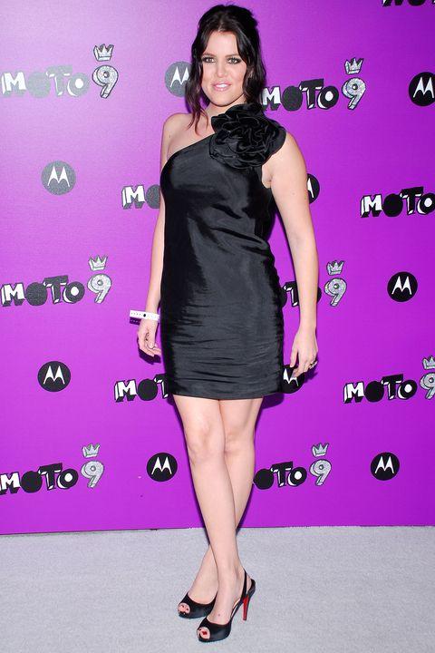 Clothing, Dress, Fashion model, Cocktail dress, Shoulder, Joint, Little black dress, Fashion, Footwear, Premiere,