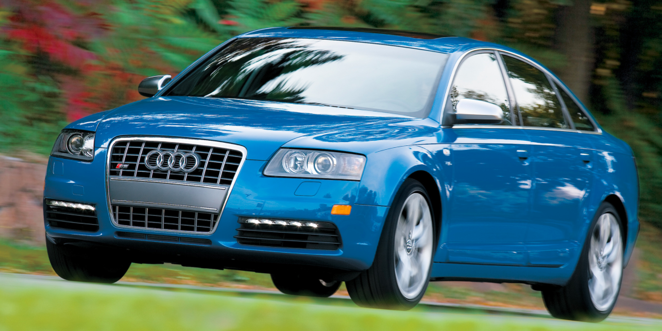 The R Wasnt The Only Car In Audis Lineup To Get A V - V10 audi s6