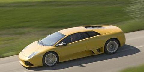 2007 Lamborghini Murci Eacute Lago Lp640 Roadster