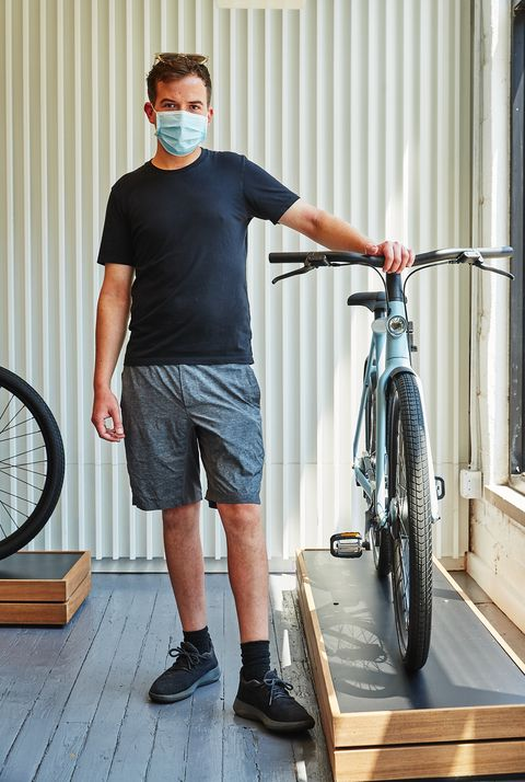vanmoof cyclery in brooklyn july 2020