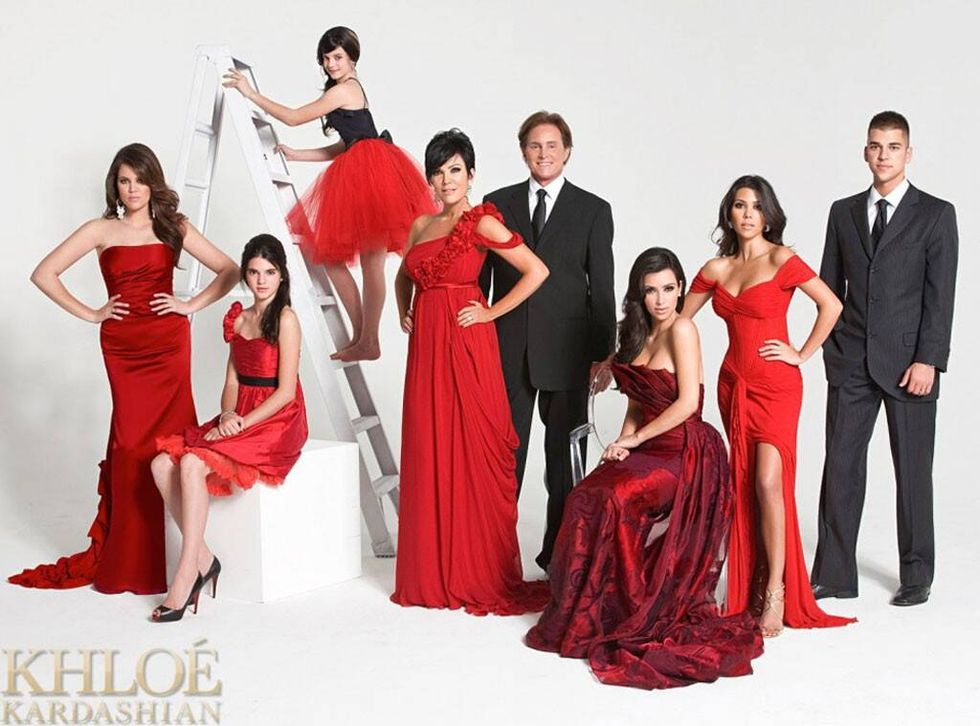 Kardashian family 2007