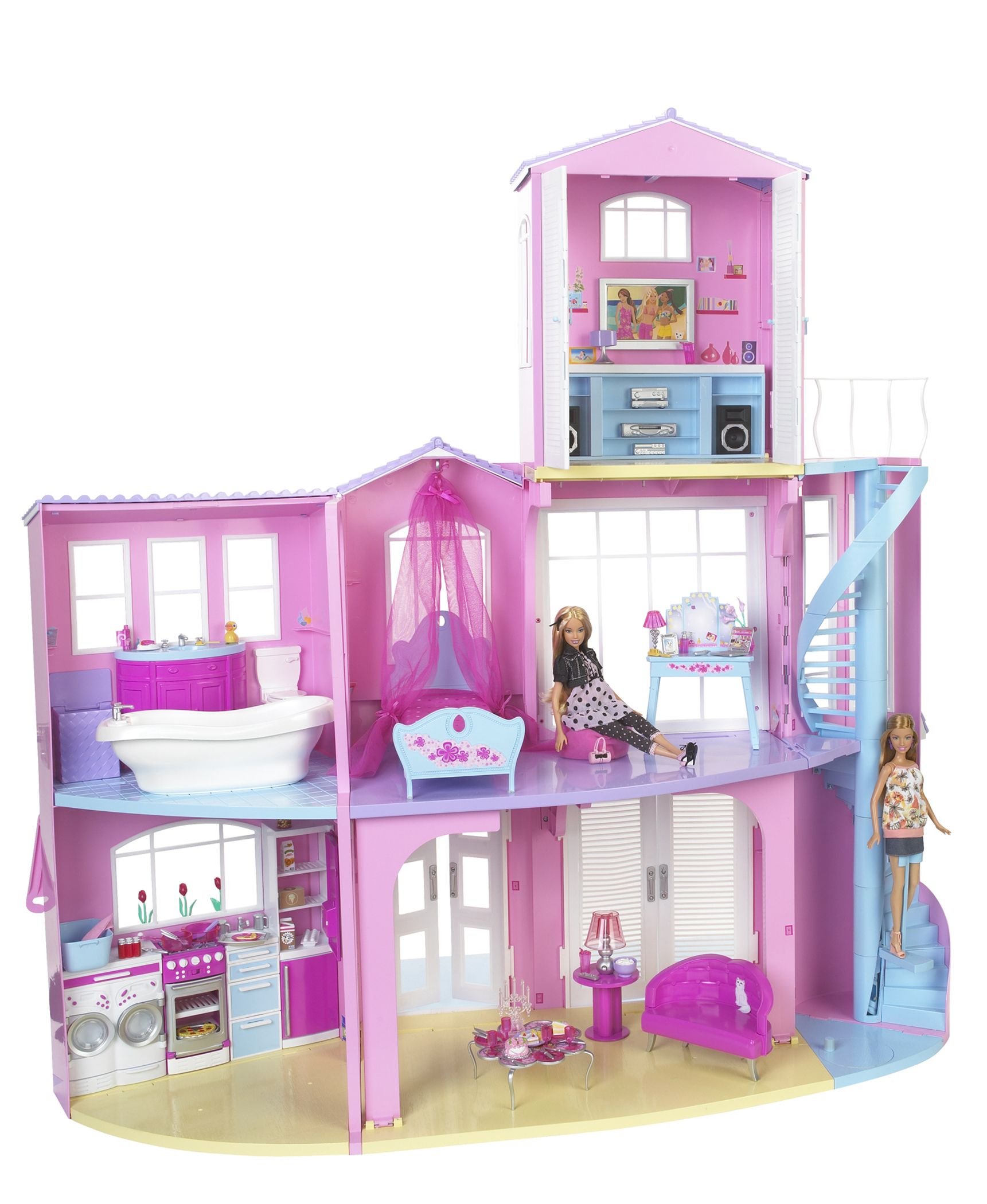 History Of Barbie Dream House Evolution Of Barbie Dream House