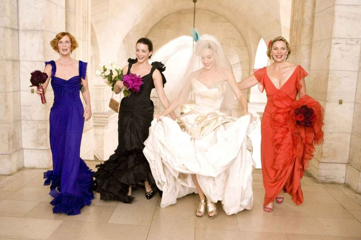 The Very Best TV And Movie Wedding Dresses Of All Time