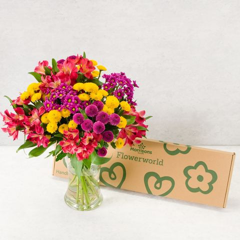 morrisons launches affordable   and pretty   letterbox flower delivery service
