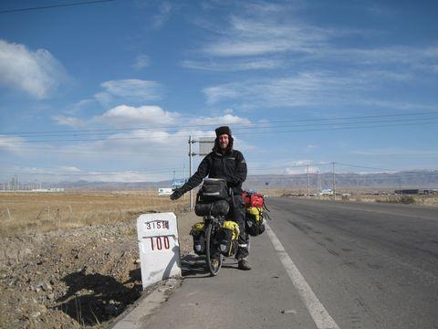 Vehicle, Road, Mode of transport, Transport, Sky, Motorcycle, Thoroughfare, Highway, Cloud, Shoulder,