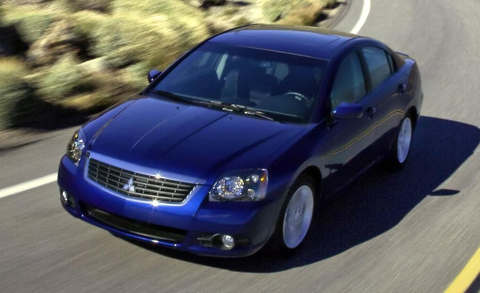 Mitsubishi Galant | Features and Specs | Car and Driver on