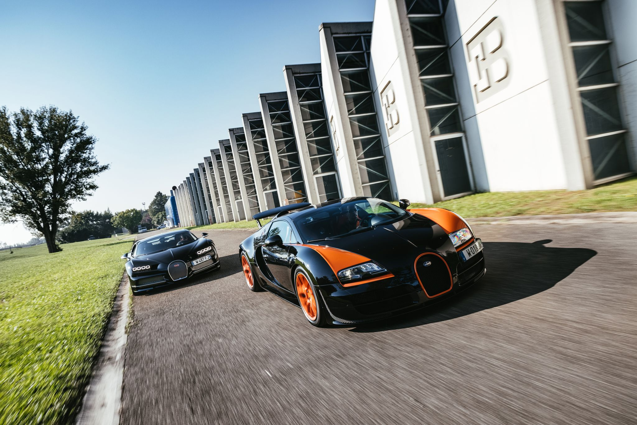 Driving the Bugatti Veyron and Chiron to Examine Auto History's Most Spectacular Gamble