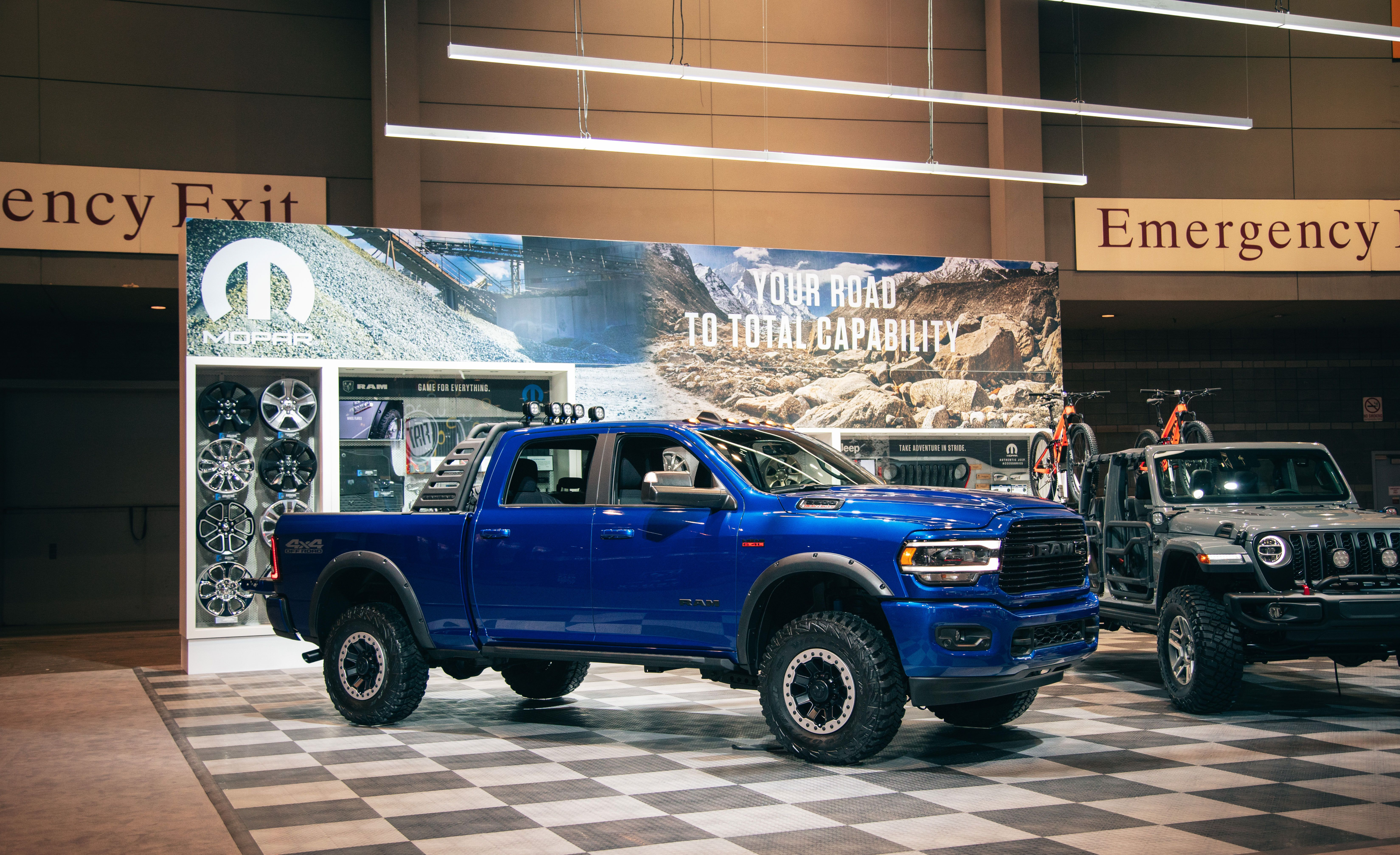 Mopar Dresses Up The 2019 Ram 2500 Hd With A Lineup Of Accessories