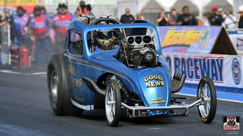 NHRA Ron Capps wins at Bakersfield March Meet