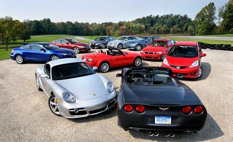 Car And Driver 10 Best >> Car And Driver S 10best Cars Through The Decades