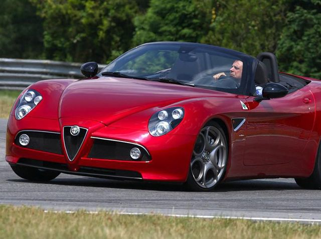 Alfa Romeo 8C Review, Pricing, and Specs