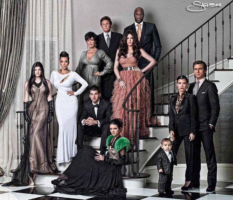 Kardashian family 2008