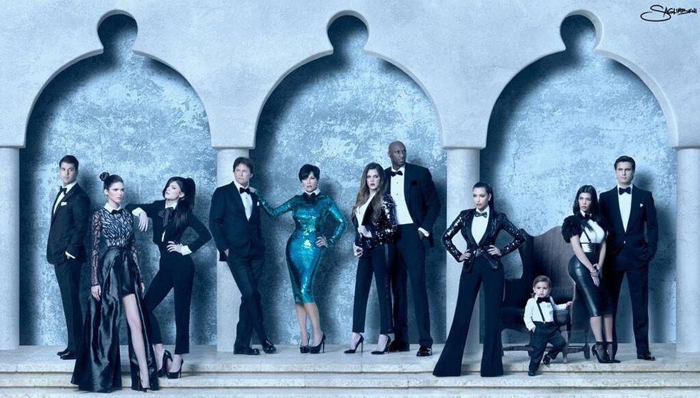 Kardashian family 2010