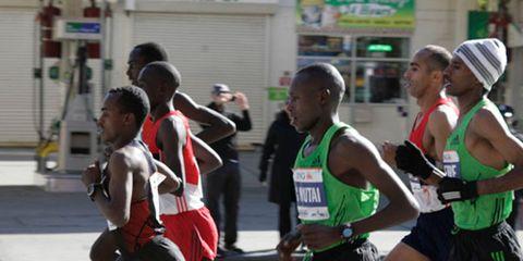 New York City Marathon Elites