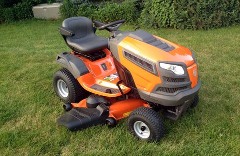 Husqvarna Fast Tractor Review: Men's Health com