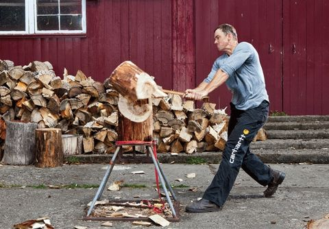 life lessons from professional lumberjack dave jewett