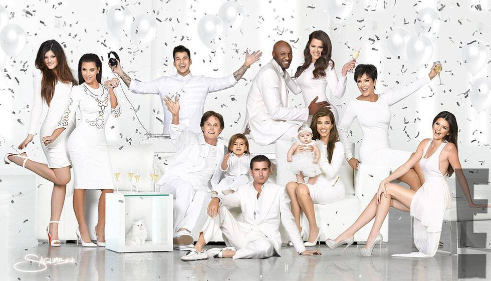 Kardashian family 2011