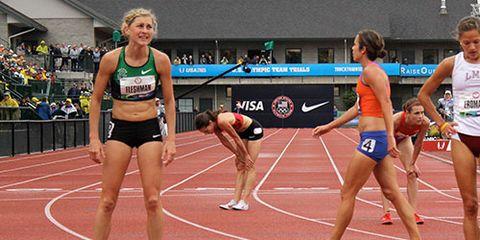 Lauren Fleshman after Olympic Trials 5000m prelim