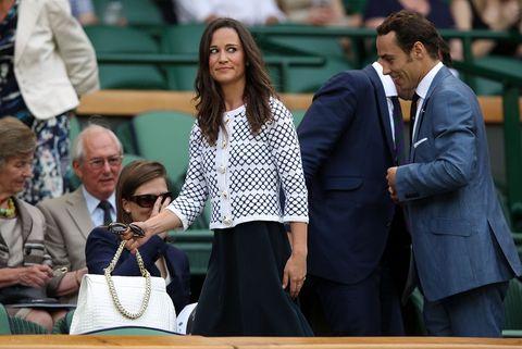 毎年恒例!ピッパの全英テニス観戦ファッションに注目