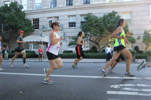 Running Down Fifth Avenue