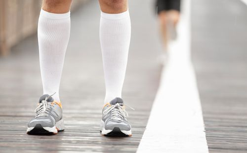 d69563084b Study: Wearing Compression Socks Post-Marathon Improves Recovery | Runner's  World