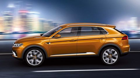 Volkswagen CrossBlue Coupe concept lateral