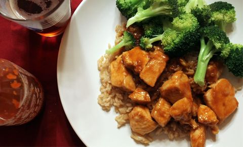 Cook Healthier General Tso's Chicken