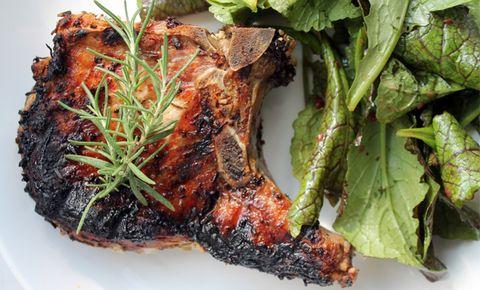 Grill A Mighty Pork Chop