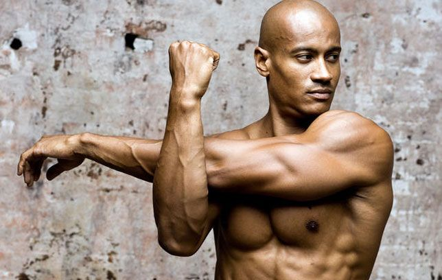 Image result for man stretching