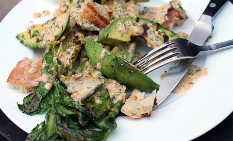 Grill Your Caesar Salad