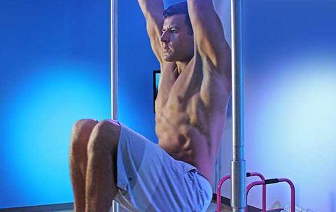 233afdce686 Perfect the Hanging Leg Raise  Men s Health.com