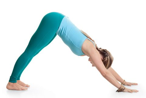 Begin On All Fours With Your Knees Hip Width Apart And Hands Shoulder Stack Hips Over Shoulders Wrists