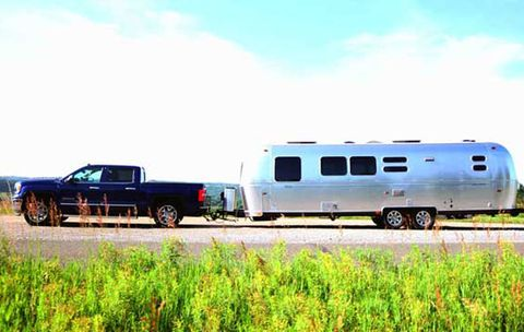 Men's Health Road Trip 2013: Airstream Flying Cloud & GMC