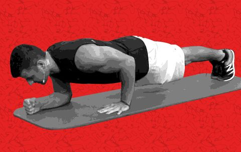 The Plank That Supersizes Your Triceps