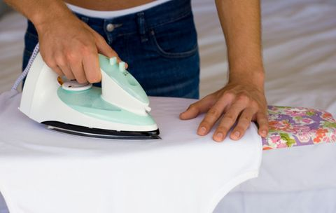 Q: Is there a proper way to iron a dress shirt and slacks?