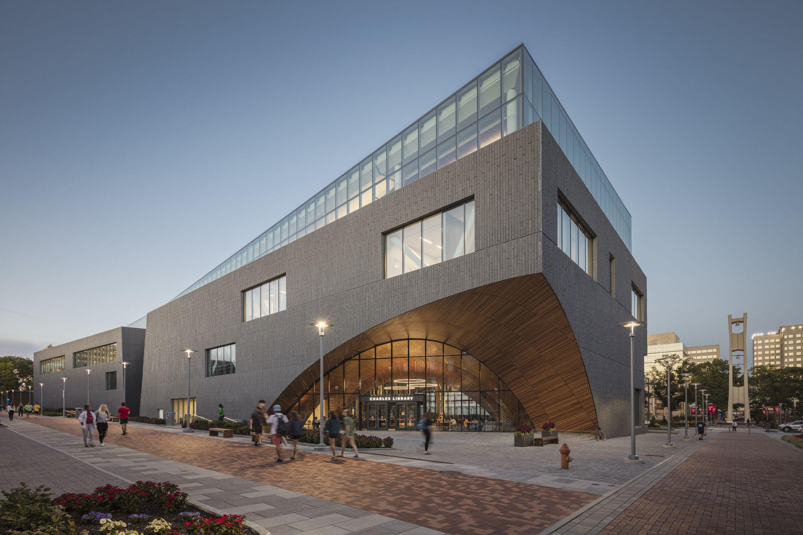 La Charles Library di Snøhetta a Philadelphia è molto più di una biblioteca