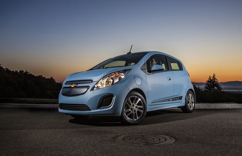 the 2014 chevy spark ev's epa estimated 82 miles of range and combined cityhighway 119 mpge, make it the most efficient retail ev with a starting price of $19,995 minus the maximum federal income tax incentive, the spark ev provides a spirited driving experience thanks to the 400 lb ft of torque produced by its electric motor