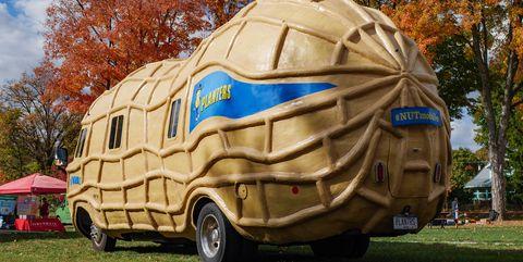 planters mr peanut nutmobile