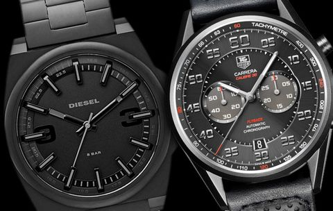 Are All-Black Watches Still in Style For Spring?